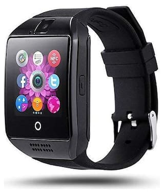 CHG Q18 Bluetooth Smart Watch for Mens;Phone Watch;Android Smartwatch with Camera/SIM Card Slot Sports;Facebook