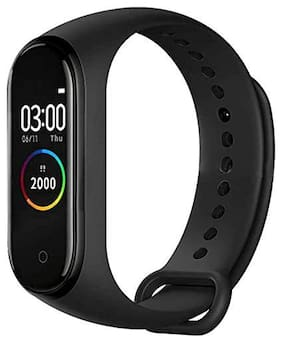 CHG Smart Band M4 Fitness Tracker Watch with Heart Rate, Activity Tracker Waterproof Body Functions Like Steps Counter, Calorie Counter, Blood Pressure, Heart Rate Monitor LED Touchscreen