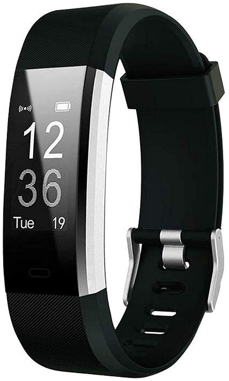 Crystal Digital Smart Bluetooth Fitness Band Smart Watch Tracker with Heart Rate...