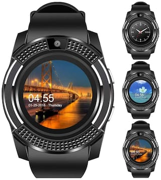 CHG Smart Watch with Bluetooth;Sim Card Health and Fitness Tracker Smart Watches for Mens Boys Girls and Women