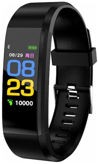 TSV ID115 A Bluetooth Smart Fitness Band Watch for Men/Women with Heart Rate Activity Tracker