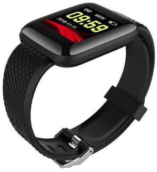 TSV 4G SMARTWATCH 240 Unisex 22 mm Black Smart Watch