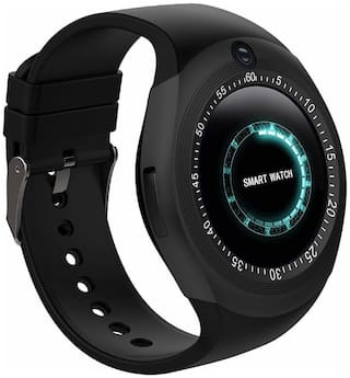 TSV  Y1s Bluetooth Smartwatch with Sim Card Slot,Camera,Call Function,Pedometer,Steps Count,Sleep Monitoring and Anti-Lost Feature