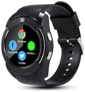 Crystal Digital V229 Camera & SIM Card Supported Bluetooth  Smartwatch Compatible With  Galaxy S9+