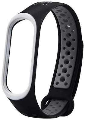 CHG Watch Strap for Xiaomi Mi Band 4 / Mi Band 3;Soft Silicone Replace Part for Mi3 Mi4 Band Fitness Sports Activity Bracelet Wristband Xiaomi Band 3/4 Watch Band M4 M3 Wrist Strap