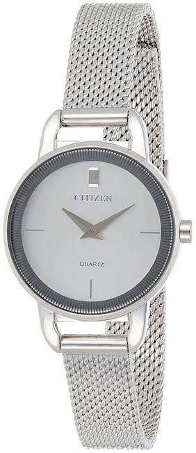 Women Silver Analog Watches