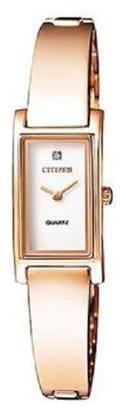 Citizen Analog White Dial Women's Watch-EZ6363-51A