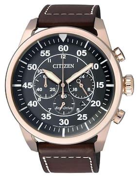 Citizen Brown Chronograph Watch ca4213-00e_1