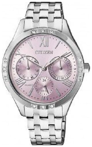 Citizen Chronograph Purple Dial Women's Watch-ED8170-56X