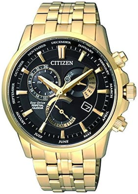 Citizen Chronograph Black Dial Men's Watch-BL8142-84E