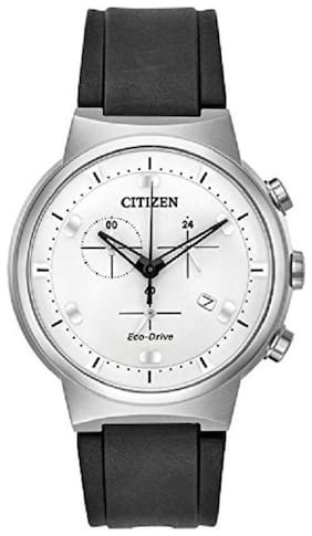 Citizen Chronograph White Dial Men's Watch-AT2400-05A