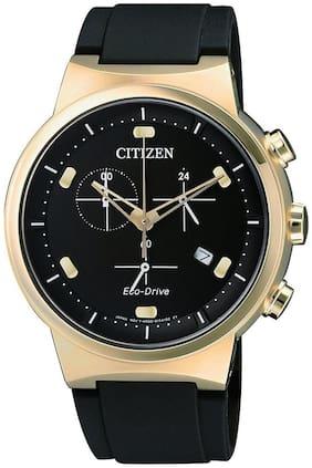 Citizen Chronograph Black Dial Men's Watch-AT2403-15E
