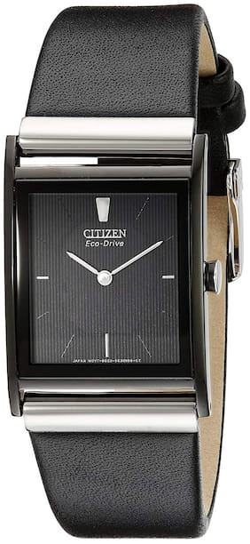 Citizen Eco-Drive Analog Black Dial Men's Watch - BL6005-01E