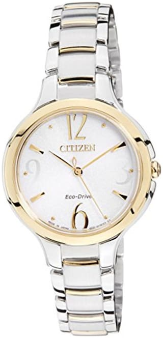 Citizen White Women Analog Watch-EP5994-59A