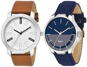 Men Black;Silver Analog Watches