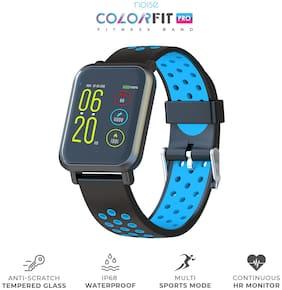 5816891cd Noise ColorFit Pro Smartwatch - Sport Blue Black | Bluetooth Smart Band  with Detachable Strap