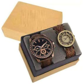 coper & gutheli  Very stylish And attractive couple watch