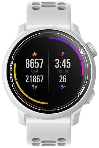 COROS Pace 2 Unisex 42 mm White Smart Watch