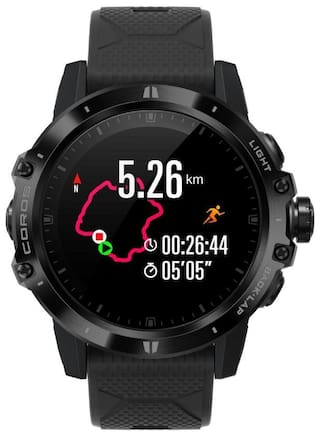 COROS Vertix GPS Unisex 47 mm Black Smart Watch