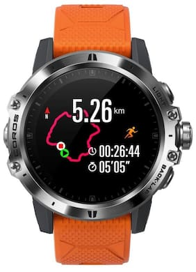 Coros Vertix GPS Adventure Watch With Orange Strap