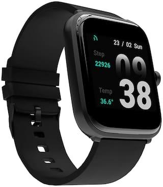 Corseca Fittex Plus Unisex 3.5 mm Black Smart Watch