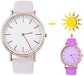 Multi-Color Analog Watch