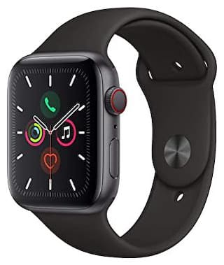 Crystal Digital (GPS, 42mm) - Space Aluminum Case With Black Sport Band