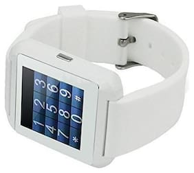 Crystal Digital U8 Bluetooth 4G Touch Screen Smart Watch Phone with Camera (white)