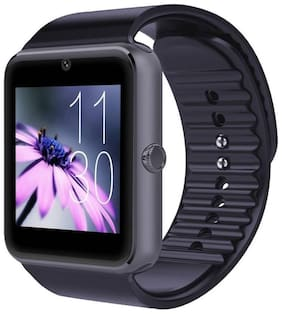 Crystal Digital GT08 Bluetooth 4G Touch Screen Smart Watch Phone with Camera (Black)