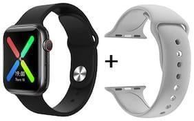 T500_watch_blk+grey_01 Unisex Smart Watch
