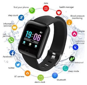 Crystal Digital Anti-Lost Touch Screen Stylish Bluetooth D13 Smart Watch With Camera Sim Card Slot Sleep Monitoring Better Display