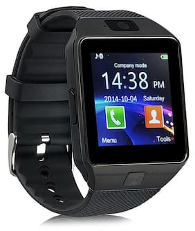 Crystal Digital CD001 Bluetooth Black Smart Watch Phone For IPhone Android Sim Card