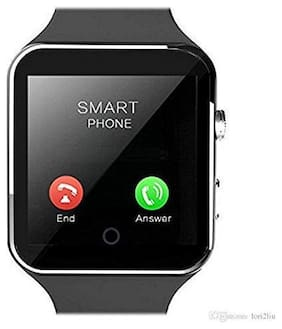 Crystal Digital X6 Bluetooth 4G Touch Screen Smart Watch Phones with Camera;SIM Card;SD Card Slot;Multi Language Support Compatible with All Android and iOS Devices