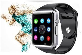 Crystal Digital A1 Bluetooth Wrist Smartwatch with Camera/SD Card Slot/Sim Card Slot/Call Reminder/Timer/Alarm