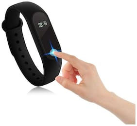 Crystal Digital  MI Note 2 Compatible M2 Smart fitness Band With Heart Rate Sensor/Pedometer/Sleep Monitoring Functions