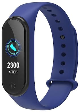 Crystal Digital M4 Smart Fitness Band with Heart Rate Sensor/Pedometer/Sleep Monitoring Functions Compatible with iPhone 6s