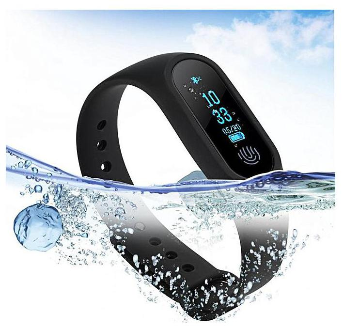 Crystal Digital Samsung Compatible M2 Smart fitness Band For All Android and...