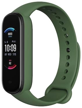 Crystal Digital M3 Band Heart Rate Monitor OLED Display Waterproof Sports Health Activity Fitness Smartband Bracelet Smartband (Olive-Green)