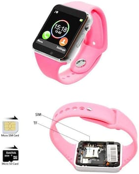Crystal Digital A1 Bluetooth Smartwatch Mobile Watch Phone for Mens, Boys with Calling Function,4G Sim,Camera,Whatsapp & Facebook Notification