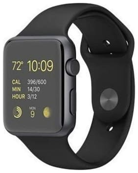 Crystal Digital A1 Bluetooth Smart Watch with Camera and Sim Card Support;and Fitness Band Feature Compitable with All Smart Phones (Black)