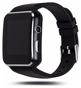TSV X6 Smart Watch Compatible with All 3G;4G Phone with Camera and Sim Card Support Black