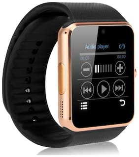 Crystal Digital Bluetooth A1 - Touch Screen Smart Wrist Watch for All iOS iPhone Android Mobile (Black)