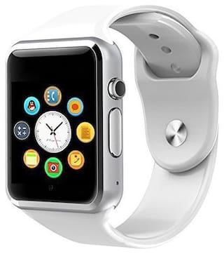 TSV   X6 Bluetooth Smartwatch With Camera/Sim Card/SD Card Support for All Devices (White)