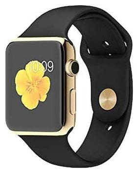 Crystal Digital Smart Watch A1 with SIM Slot and 32GB Memory Card Slot and Bluetooth and Fitness Tracker and All 4G Android (Gold)