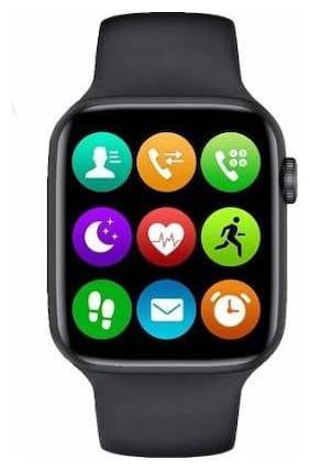 T55_Black_02 Unisex Smart Watch