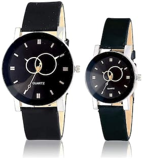 crystal glass watch for couple mens and womens