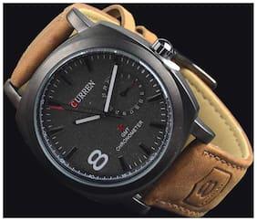 Curren Brown Chronograph Watch
