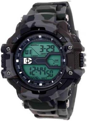 CZAS CS- 8276 Black New Digital Military Shape Digital Sports Watch - For Boys