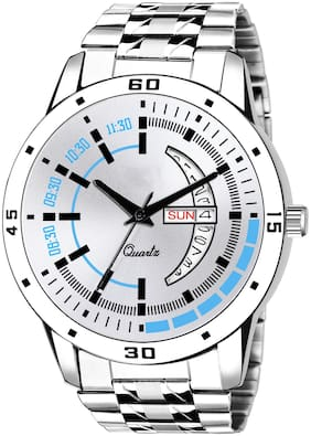 Daniel Clark New Analog Watch For Men With Stainless Steel Chain