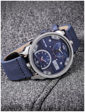 Daniel Klein Analog Blue Dial Men's Watch - DK11125-2